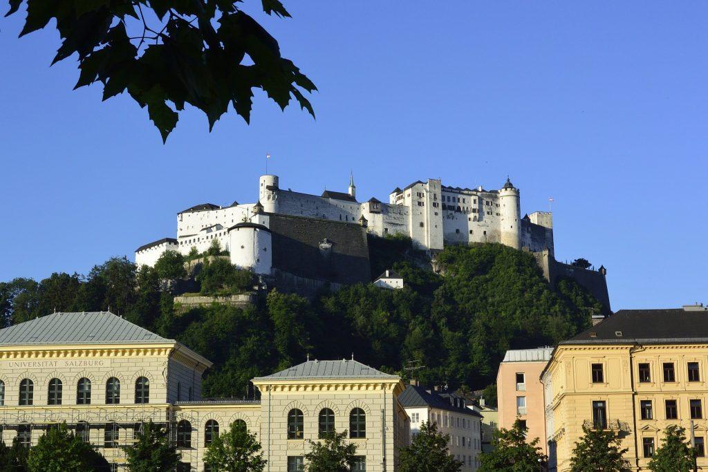 Salzburg i jego skarby: Hohensalzburg